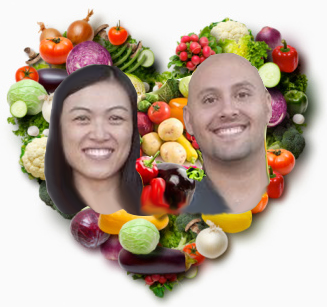 Brian and Jue go Vegetarian