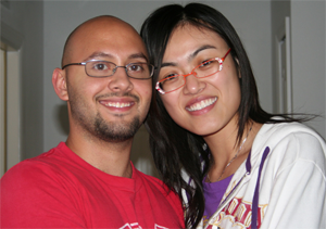 Brian and girlfriend Jue 2007