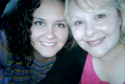 My sister Melissa and I