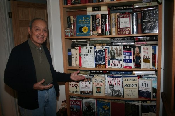 My father and his books