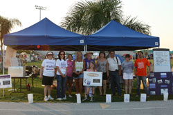 Relay for Life at Cocoa Beach on April 9th, 2011